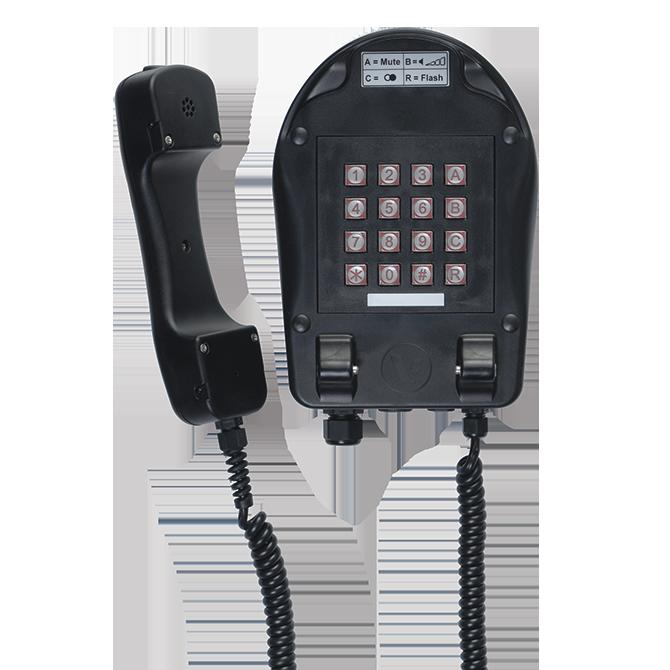 Nachrichtentechnik explosionsgeschützt Industrie telefon dA24 dA24/ZB